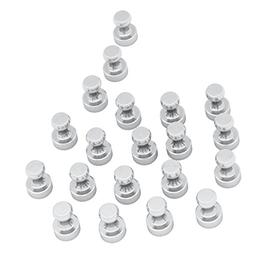 Steel Magnetic Push Pins Silver Color Nickel-Plated - Useful
