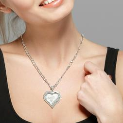 925 sterling silver lovely hearted any personalized
