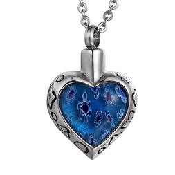 COCO Park Close to Heart Urn Pendant Necklace Miss You Stone