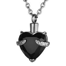 COCO Park Colorful Birthstone Loved Ashes in Heart Urn Penda