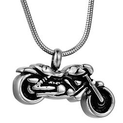 COCO Park Motorcycle Cremation Jewelry Punk Stainless Steel