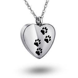 COCO Park Stainless Steel Memorial Ashes Keepsake Jewelry Pe