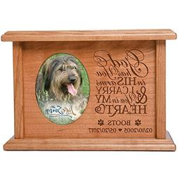 Cremation Urns for Pets SMALL Memorial Keepsake box for Dogs