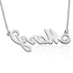 Personalized Name Necklace in 925 Sterling Silver - Custom M