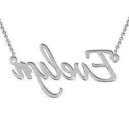 SOUFEEL Customized Necklace Evelyn Style Personalized Name N