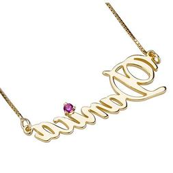 Shineyou Personalized Name Necklace Custom Necklace for Wome