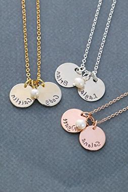 Childrens Name Necklace – DII ABC - Mommy Gift – Handsta