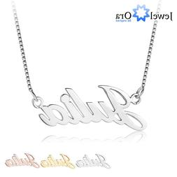 Personalized Name Necklace Custom Any Letters Necklaces Jewe