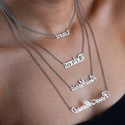 Customized Name Necklace Made-to-order Personalized Nameplat