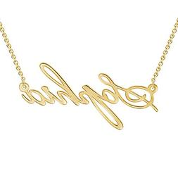 SOUFEEL Customized Necklace Personalized Necklace 14K Gold P