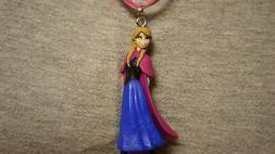 Frozen Princess Anna Figure Charm Necklace Fantasy Novelty C