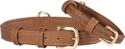 Friends Forever Genuine Leather Collar, Soft Touch Leather D