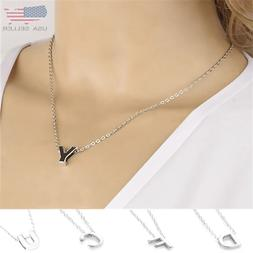 Girl Silver DIY Capital Letter Name Alphabet Initial Link Ch