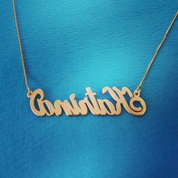 Gold Classic Name Necklace - Personalized Cute Necklaces Nam