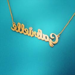 Gold Name Necklaces, gold name necklace, order any name!!! 1
