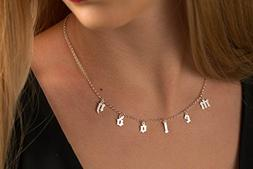Gothic Choker Necklace - Personalized Choker Necklace - Name