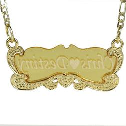 Handmade 18K  Gold Plated Custom Any Personalized Name Neckl