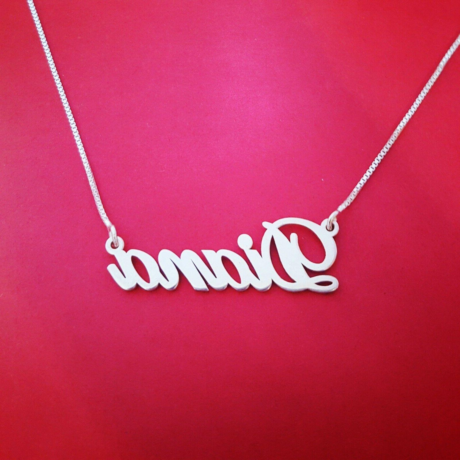 14k Real Necklace Name Necklaces / Name!
