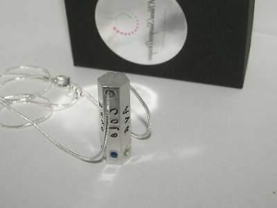 6 sided personalized jewelry name necklace, mom