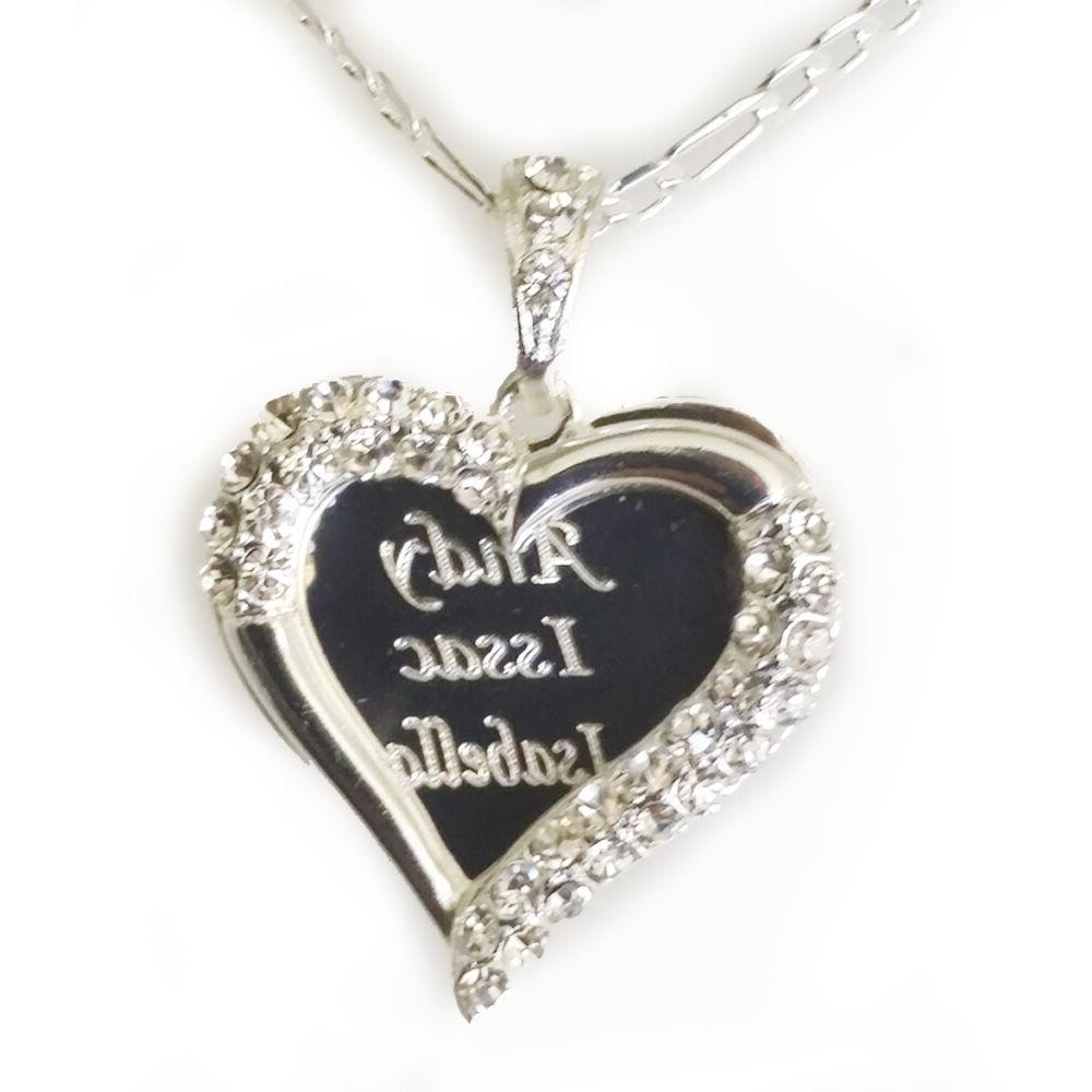925 Sterling Hearted Necklace