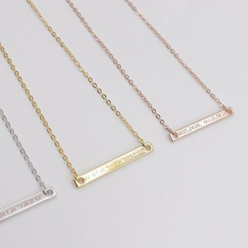 A Coordinate Customized Engraving Gold Plated GPS bridesmaid Anniversary Gift SHIPPING GIFT