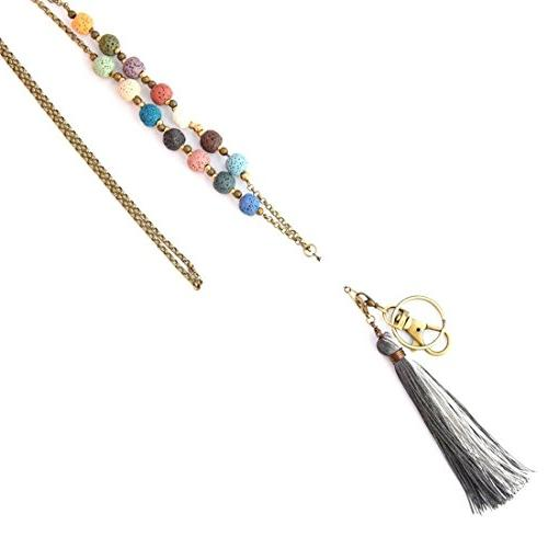 Crimmy - Necklace Lanyards - Copper Chain Badge 34'' Jewelry ID Convertable and -