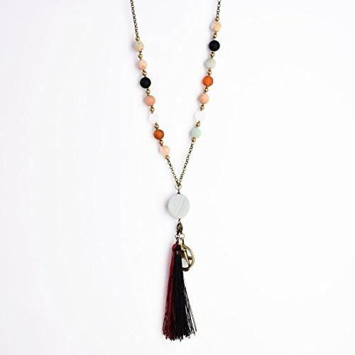 Crimmy - Necklace Lanyards - Badge Holder Jewelry ID Holder Convertable Tassel and