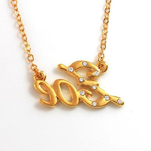 Name Necklaces Zoe - Personalized Necklace Gold Plated 18K,