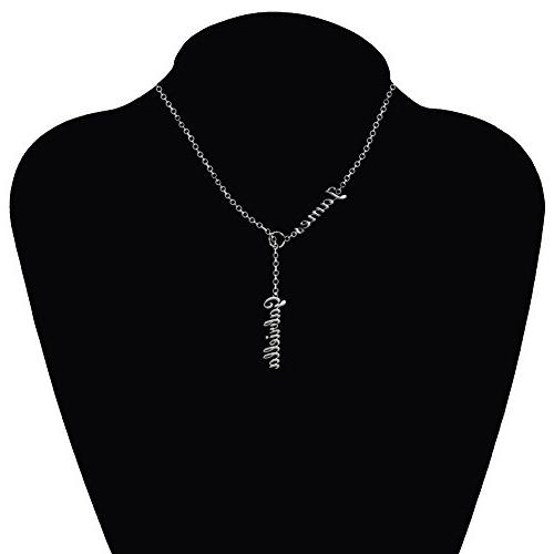 Ouslier Sterling Silver Personalized Names Custom Names