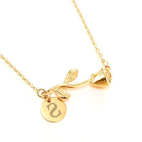 Personalized Stainless Steel Any Name Bar Necklace Pendant Colors with Chain,Gold