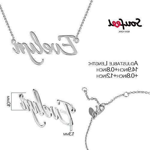 Style Name 925 Sterling Silver Necklace