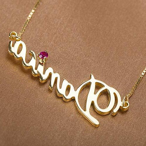 Shineyou Custom Necklace Rose Sterling Silver Necklaces 24K