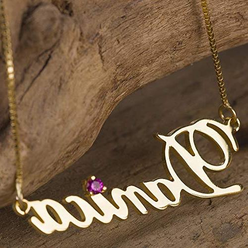 Shineyou Custom Necklace for Women/Men/Wife Rose Gold Silver Necklaces 24K 24K