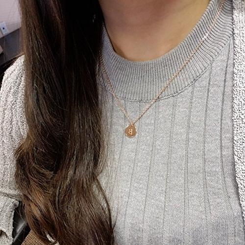 A Customizable Necklace 16k Gold Rosegold Necklaec