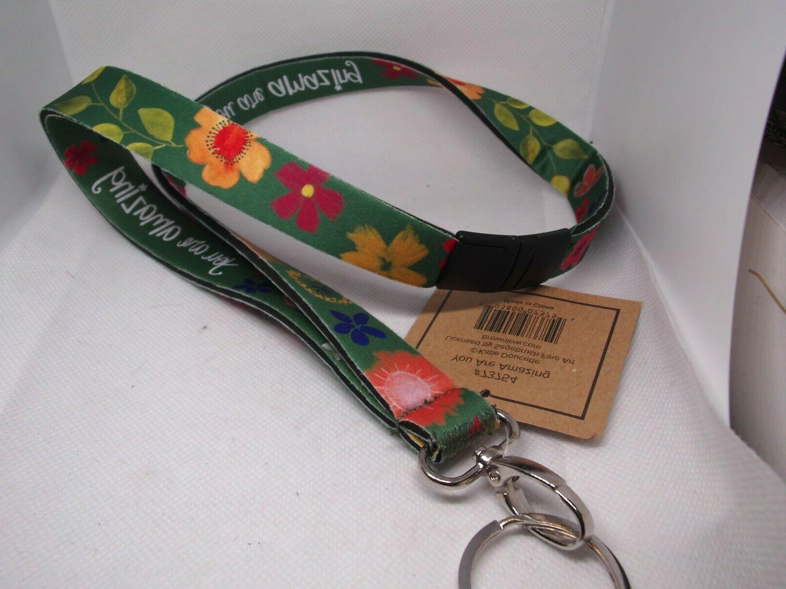 KATIE DOUCETTE ARE AMAZING ID Name Lanyard