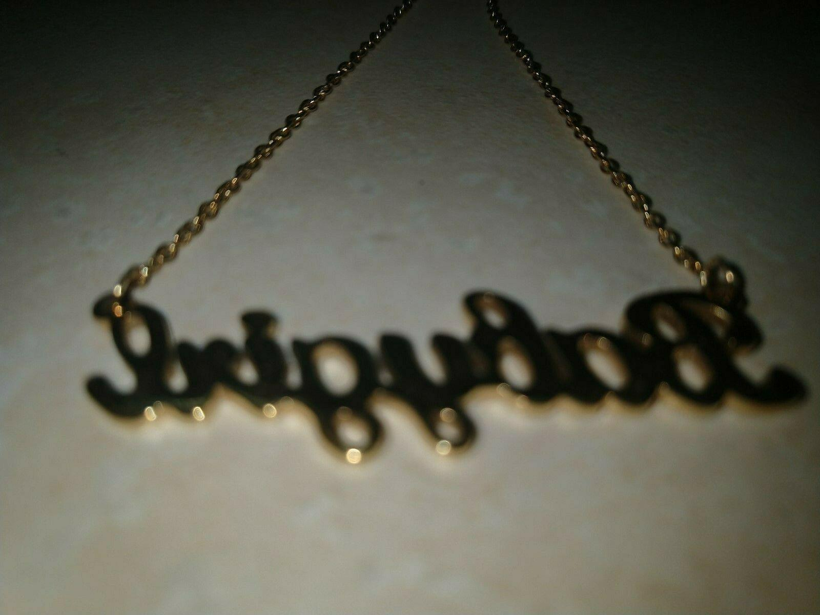 Babygirl Gold Necklace Hip Chain