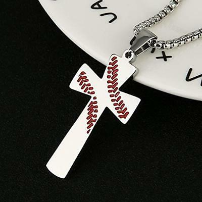 Baseball Necklaces I CAN THINGS STRENGTH Bible Steel