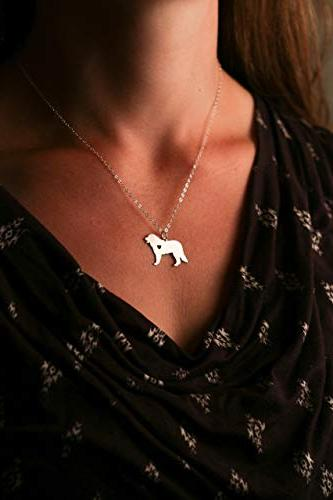 Bernese Mountain - IBD - Personalize Name or - Choose Chain Size 935 Sterling 14K Rose Gold Charm - Ships in Business Day