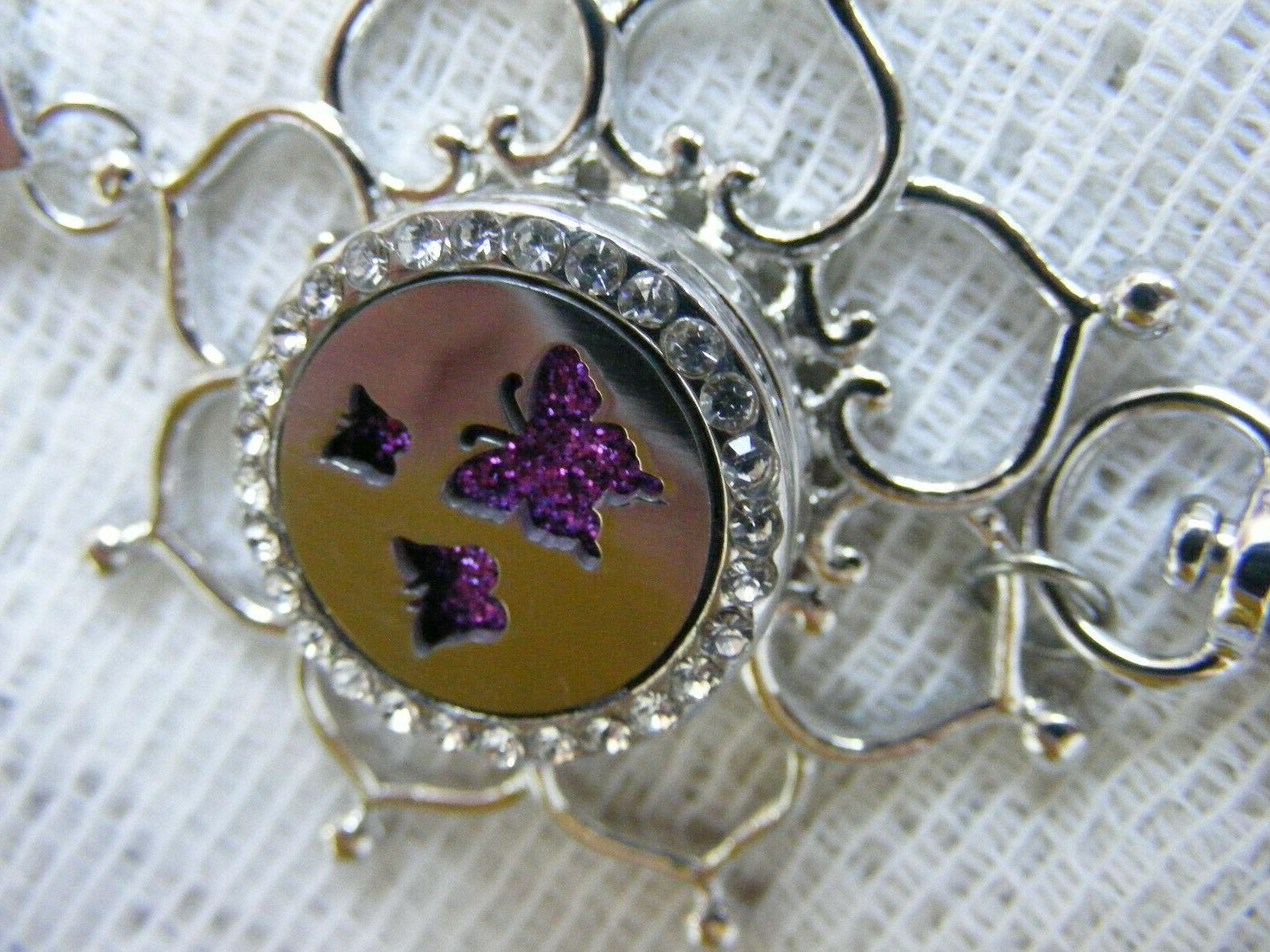 Butterfly Oil ID Tag Holder