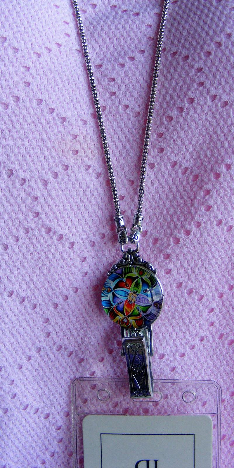 Colorful ID Name Card Necklace Original