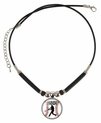 Custom Baseball Necklace With