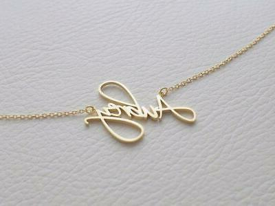 Custom Child Necklace Baby Name Necklaces for Women & Kids