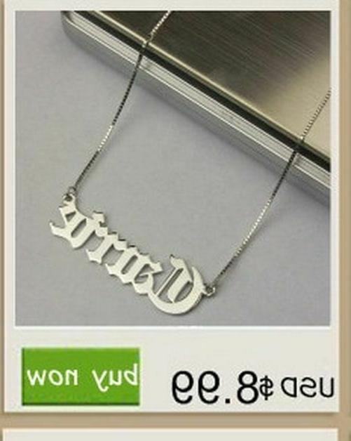 Custom Name Necklace Personalized Infinity Pendant Love Frie