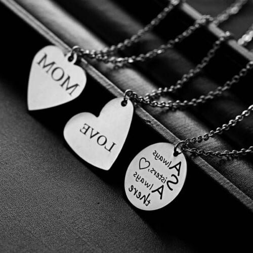 Stainless Steel Custom Date Necklace Jewelry