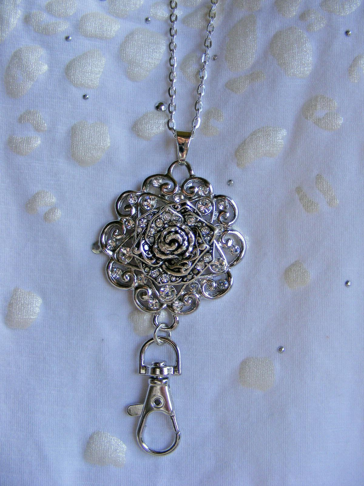 Bling ID Tag Necklace