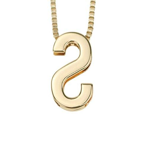 fashion metal diy letter s initial name