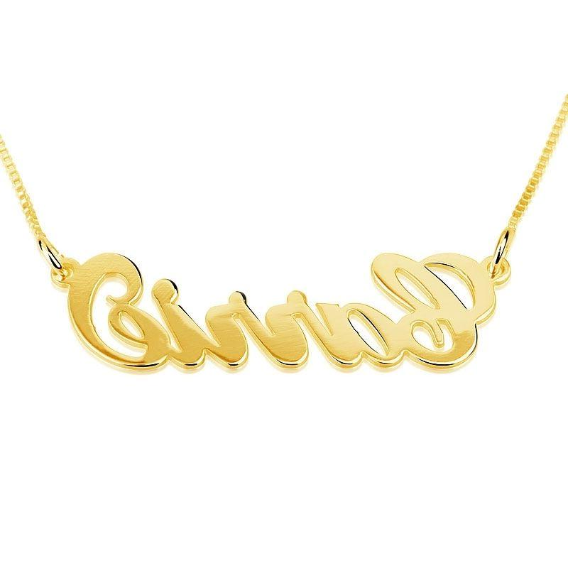 Name chain / 14k name necklace