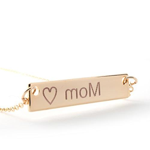 i1it Name Shipping Gift 16k Gold Name Necklace Mothers Day