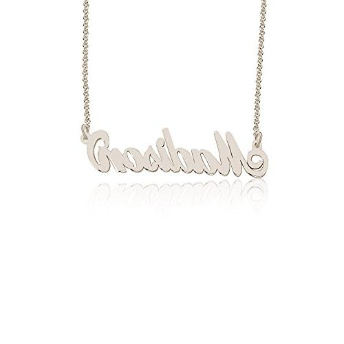 madison name necklace