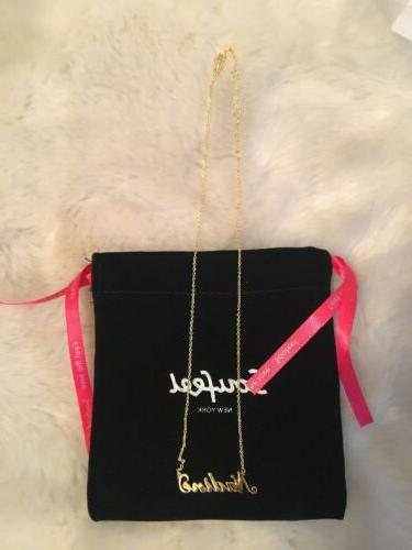 Soufeel Necklace Nameplate Yellow Costume Jewelry Brand in